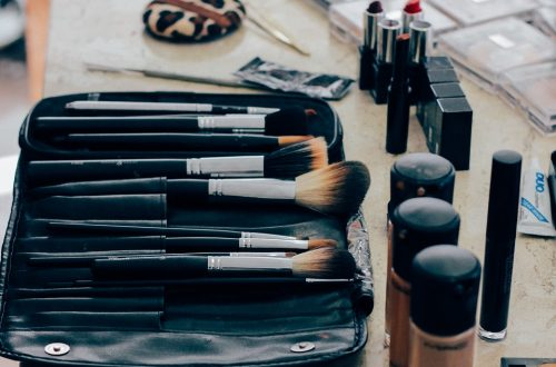 les étapes successives du makeup